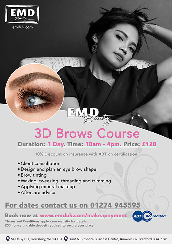 3D Brows Courses by EMD Beauty