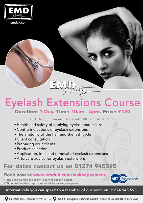 Eyelash Extensions Courses by EMD Beauty