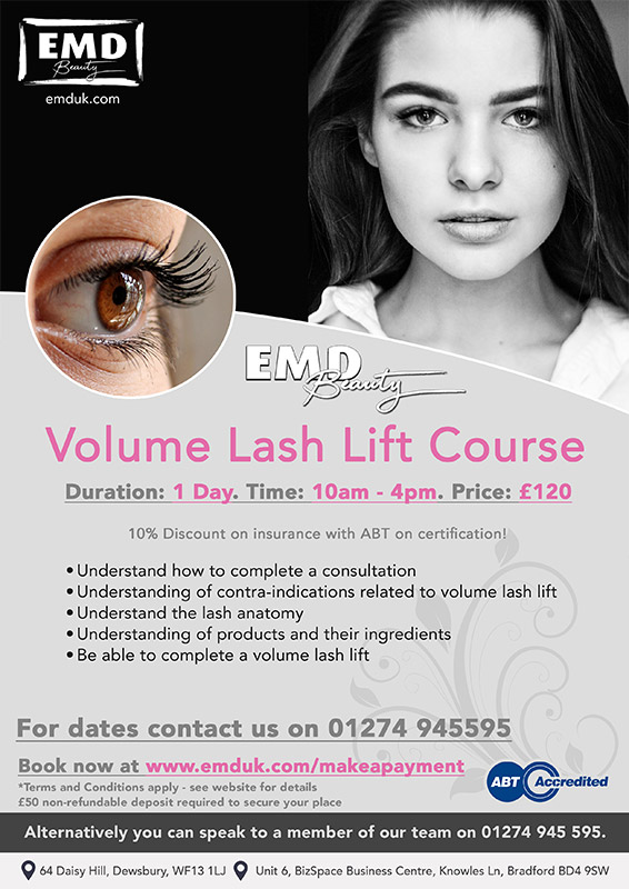 Lash Lift Courses by EMD Beauty