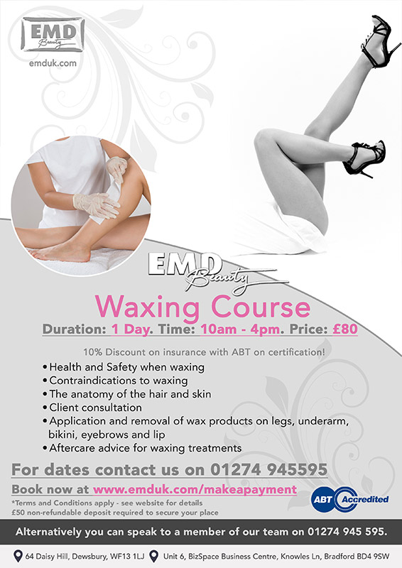 Waxing Courses by EMD Beauty
