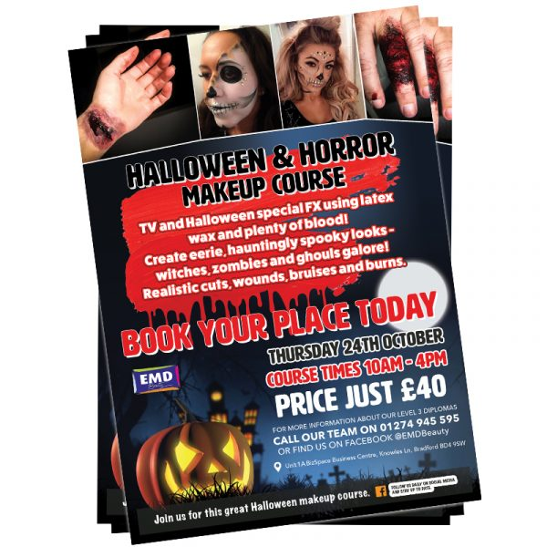 EMD Halloween Makeup Course
